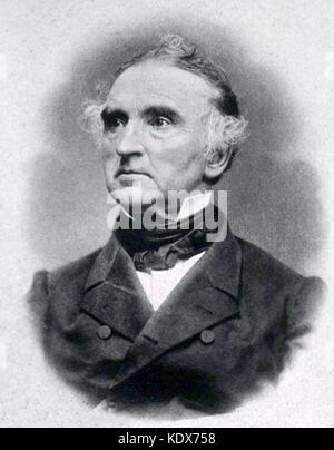 Justus Freiherr von Liebig (12 May 1803 – 18 April 1873) - Stock Photo