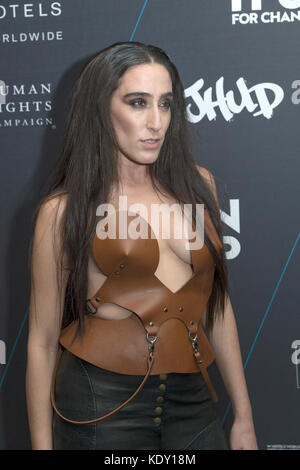 New York, NY - October 21, 2014: Ladyfag attends the W Hotels TURN IT UP FOR CHANGE Ball at W Union Square - Stock Photo