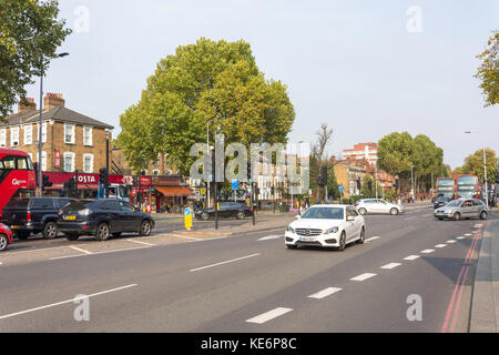 High Road (A10), Seven Sisters, London Borough of Haringey, Greater London, England, United Kingdom - Stock Photo