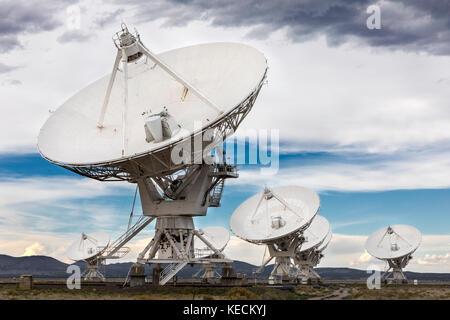 Very Large Array (VLA), Socorro, New Mexico, USA - Stock Photo
