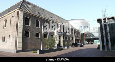 De Librije Restaurant and Hotel at Spinhuisplein, central Zwolle, The Netherlands.  Three Michelin stars, run by - Stock Photo