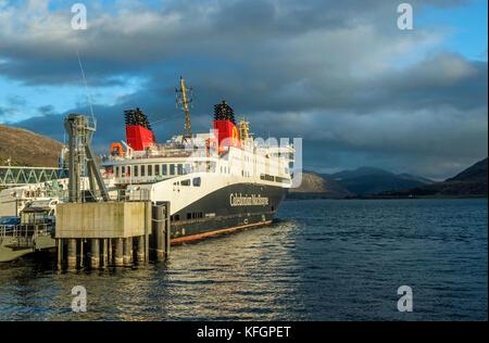 The CalMac ferry from Ullapool to Stornoway, Scotland - Stock Photo