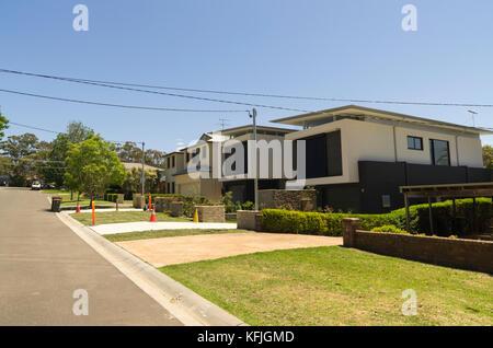 Rawson Parade, Caringbah, Sutherlandshire, South Sydney, NSW, Australia - Stock Photo