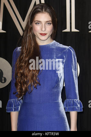 Oct 03, 2017 - Birdy attending 'BFI Luminous Fundraising Gala at The Guildhall in London, England, UK - Stock Photo
