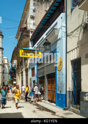 Havanna, Cuba :  La Bodeguita del Medio Havanna, Cuba :  La Bodeguita del Medio - Stock Photo