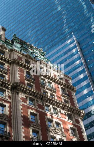Knickerbocker Hotel, 42nd Street, Times Square, NYC, USA - Stock Photo