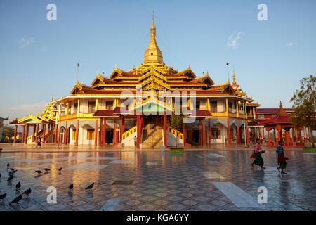 Tha Ley Phaung Daw Oo Pagoda, Inle Lake, Myanmar - Stock Photo
