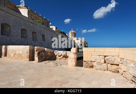 Mdina city on Malta - Stock Photo