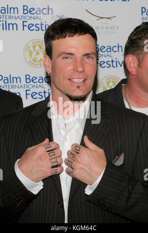 MIAMI, FL - APRIL 24 : Robert Matthew Van Winkle - Vanilla Ice 15th Annual Palm Beach International Film Festival's - Stock Photo