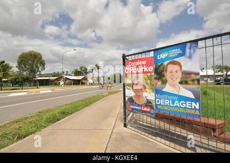 Townsville, Queensland, Australiauueensland elections - Stock Photo