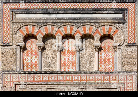 Detail of San Juan Door at Cordoba Mosque, Andalusia, Spain - Stock Photo