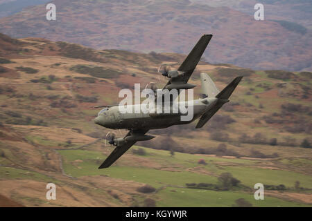 ZH868 Royal Air Force Lockheed Martin Hercules C4 (C-130J - Stock Photo