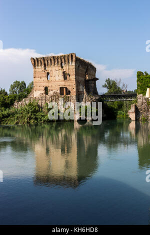 Borghetto Sul Mincio, Italy. - Stock Photo