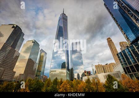 Freedom tower New York - Stock Photo