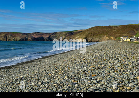 Newgale beach, West Wales, Pembrokeshire, United Kingdom - Stock Photo