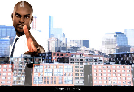 future plan for developing a nation - Stock Photo