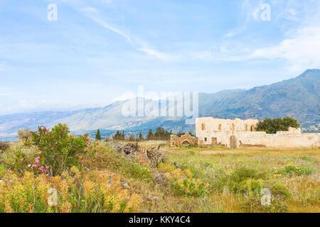 Crete - Greece - Ruins of Frangokastello, Europe - Stock Photo