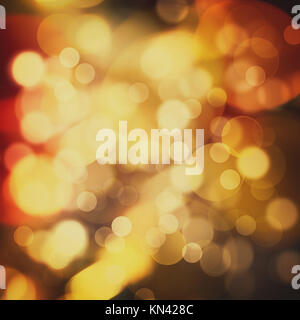 Abstract Festive Christmas background with beauty bokeh and defocused lights. - Stock Photo