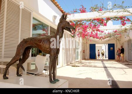Centre Artesà Antoni Tur Gabrielet ,Sant Francesc Xavier, Formentera, Balearic Islands, Spain. - Stock Photo