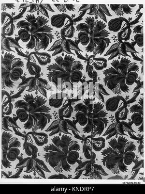 Piece. Date: 17th century; Culture: Italian; Medium: Silk; Dimensions: L. 37 x 17 inches (94.0 x 43.2 cm); Classification: - Stock Photo