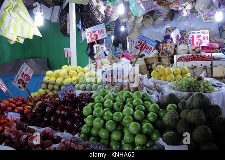 Jamaica market place in Mexico city. - Stock Photo