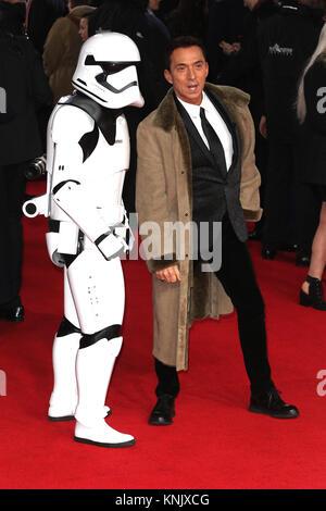 London, UK. 12th Dec, 2017. Bruno Tonioli, Star Wars: The Last Jedi - European Premiere, Royal Albert Hall, London - Stock Photo
