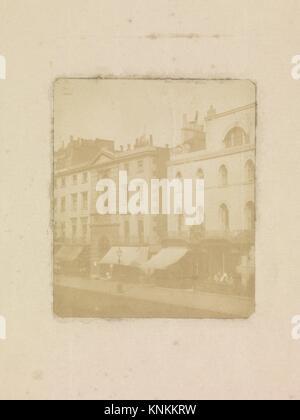 [Nos. 170-176 Regent Street, London]. Artist: William Henry Fox Talbot (British, Dorset 1800-1877 Lacock); Date: - Stock Photo