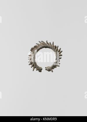 Wreaths, 11. Culture: Greek, Laconian; Medium: Lead; Dimensions: Diameter: 7/8 in. (2.3 cm); Classification: Miscellaneous - Stock Photo