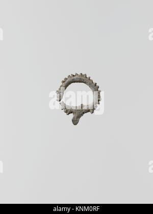 Wreaths, 11. Culture: Greek, Laconian; Medium: Lead; Dimensions: 3/4 x 11/16 in. (2 x 1.7 cm); Classification: Miscellaneous - Stock Photo