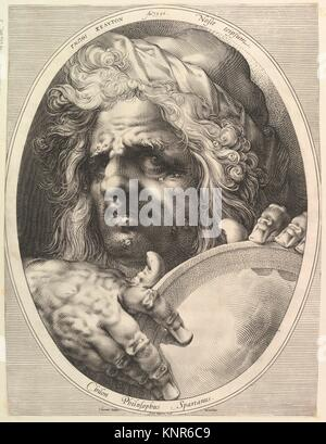 Chilon, Legislator & Philosopher of Sparta. Artist: Jan Muller (Netherlandish, Amsterdam 1571-1628 Amsterdam); Publisher: - Stock Photo