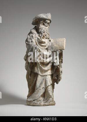 Saint James the Greater. Date: ca. 1450-75; Geography: Made in Poligny, Burgundy, France; Culture: French; Medium: - Stock Photo