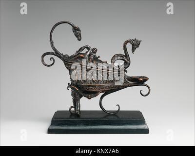 The Rothschild Lamp. Maker: Andrea Briosco, called Riccio (Italian, Trent 1470-1532 Padua); Date: ca. 1510-20; Culture: - Stock Photo