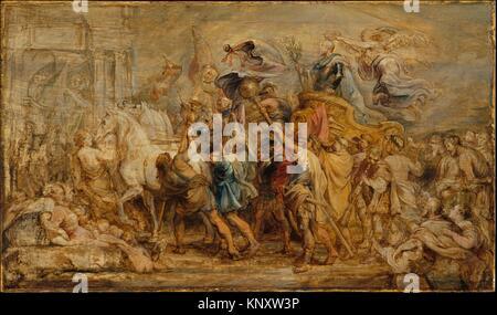 The Triumph of Henry IV. Artist: Peter Paul Rubens (Flemish, Siegen 1577-1640 Antwerp); Date: ca. 1630; Medium: - Stock Photo