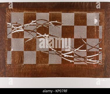 Stencil. Date: 19th Century; Culture: Japan; Medium: Paper; Dimensions: 19 x 12 in. (48.26 x 30.48 cm); Classification: - Stock Photo
