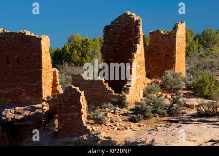 Hovenweep Castle, Hovenweep National Monument, Utah. - Stock Photo