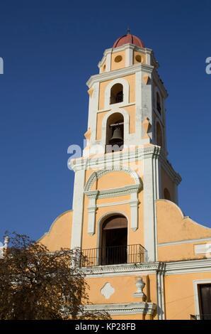 Iglesia y Convento de San Francisco, Trinidad, UNESCO World Heritage Site, Sancti Spiritus, Cuba - Stock Photo
