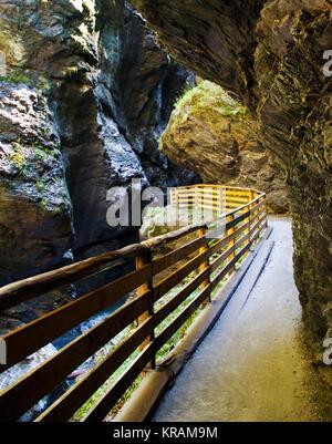 Liechensteinklamm (Liechtenstein Gorge) - Stock Photo