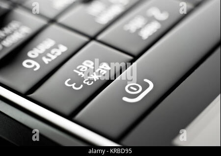 phone buttons - Stock Photo