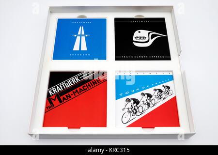Kraftwerk The Catalogue CD box set - Stock Photo