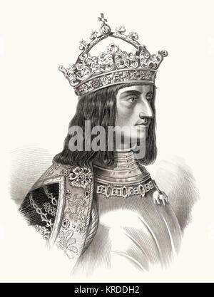 Maximilian I von Habsburg, 1459 -1519, Emperor of the Holy Roman Empire - Stock Photo