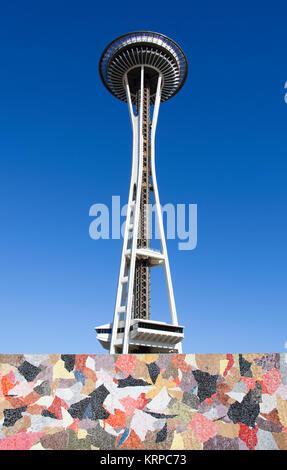 Seattle Futuristic Architecture - Stock Photo