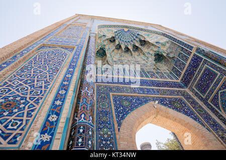 Gur-e Amir Mausoleum Gate - Stock Photo