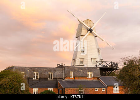 Rye Windmill a grade-two listed b&b guesthouse, rye, east sussex, uk - Stock Photo