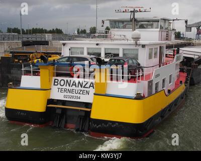 Bonanza   ENI 02320254, Van Cauwelaertsluis, Port of Antwerp pic4 - Stock Photo