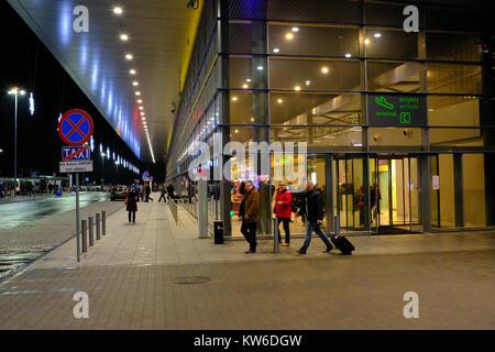 Katowice Airport - Stock Photo