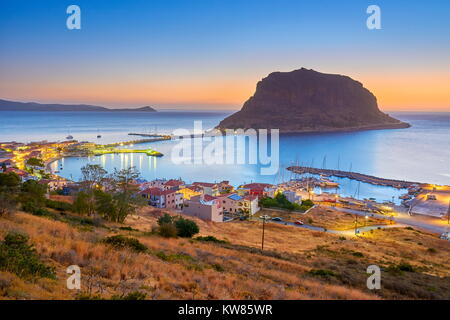 Monemvasia, Peloponnese, Greece - Stock Photo