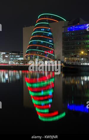 Convention Centre, Dublin Docklands, Ireland - Stock Photo