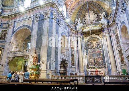 Lisbon Portugal Lapa Basilica da Estrela do Sagrado Coracao de Jesus Convent of the Most Sacred Heart of Jesus Catholic - Stock Photo