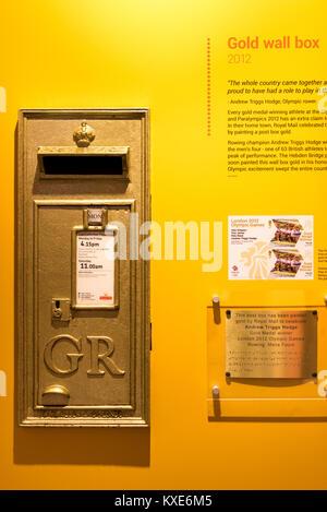 Postal Museum, Royal Mail Postal Museum, Mount Pleasant, London - Stock Photo