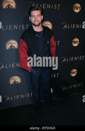 Hollywood, USA. 12th Jan, 2018. HOLLYWOOD, CA - JANUARY 11: Actor Jake Weary attends the Los Angeles Premiere of - Stock Photo
